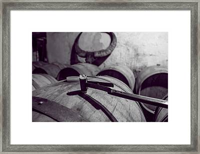 Wine Storage Framed Print