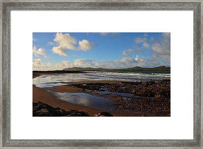 Wine Strand Framed Print