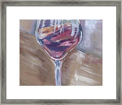 Wine Tasting Framed Print