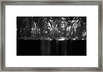 Wine Time Framed Print by Brad Scott