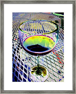 Wine Vertical Framed Print by Peter  McIntosh