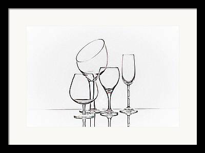 Wine Service Framed Prints
