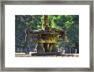 Winepress Framed Print by Fernando Lopez Lago