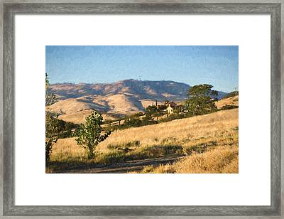 Winery At Ashland Oregon Framed Print