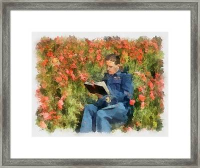 Wing Commander Guy Gibson 617 Squadron Dambusters 1943 Wwii Framed Print by Esoterica Art Agency