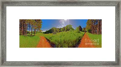 Wingate Prairie Framed Print by Tom Jelen