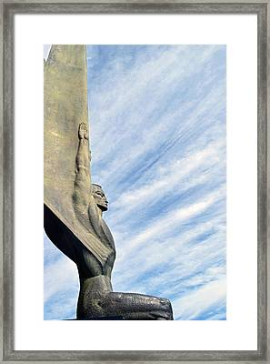 Winged Figure Of The Republic No. 1 Framed Print