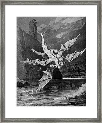 Winged Foes Framed Print