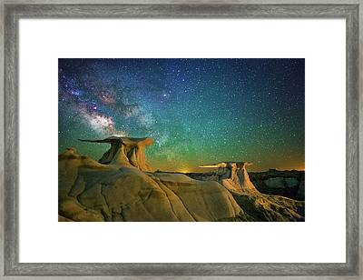 Winged Guardians Framed Print