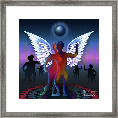 Winged Life Framed Print