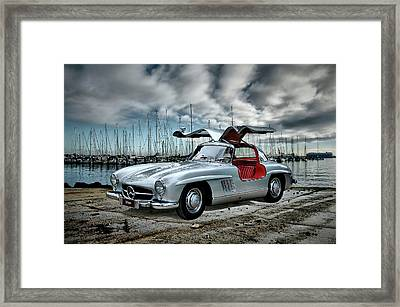 Winged Merc Framed Print