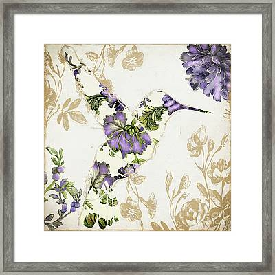 Winged Tapestry IIi Framed Print by Mindy Sommers