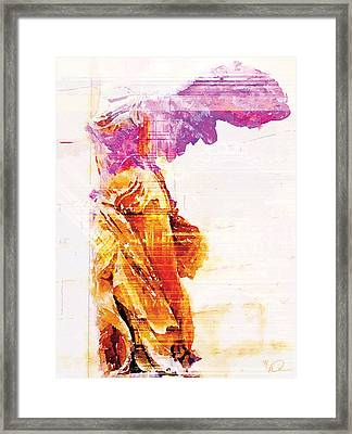 Winged Victory Framed Print by David Derr