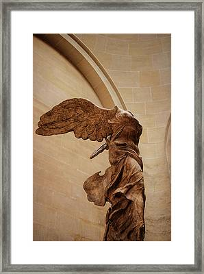 Winged Victory Framed Print by JAMART Photography