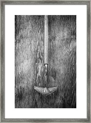 Winged Weeder II Framed Print