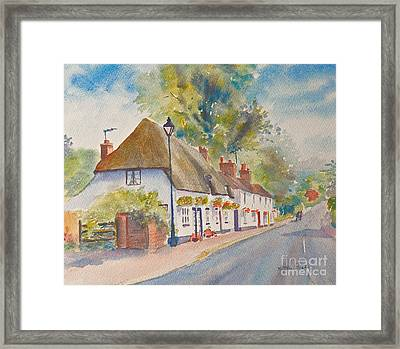 Framed Print featuring the painting Wingham Nr.canterbury by Beatrice Cloake