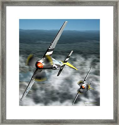 Wingman Framed Print by Jim Coe