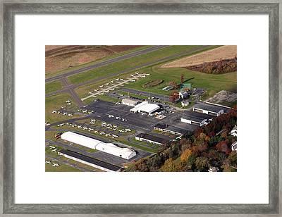 Wings Field 1501 Narcissa Road Blue Bell Pennsylvania 19422 Framed Print