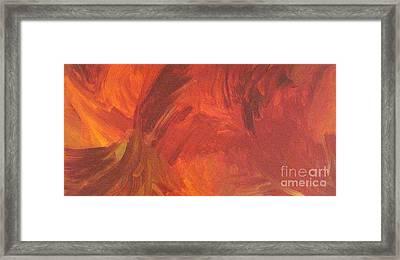 Wings In Flight Framed Print by Shelly Wiseberg