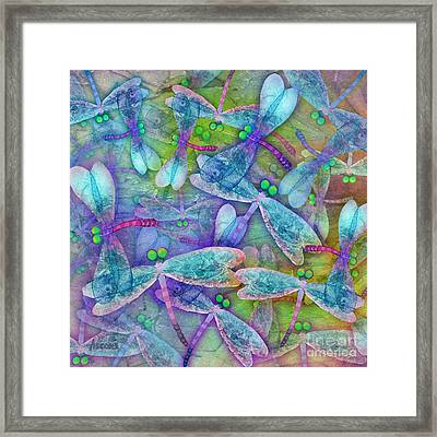 Wings Large In Square Format Framed Print by Teresa Ascone