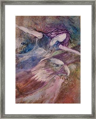 Wings Like Eagles Framed Print
