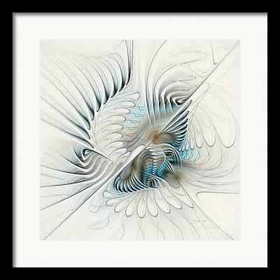 Generative Paintings Framed Prints