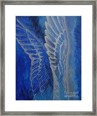 Wings Of Angel Framed Print
