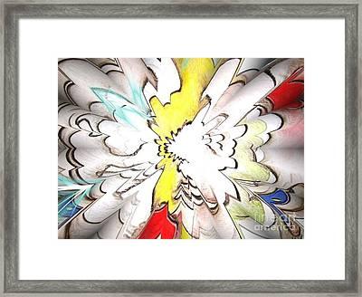 Wings Of Dreams Framed Print