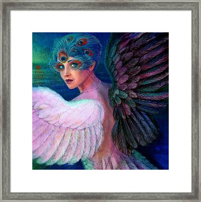 Wings Of Duality Framed Print by Sue Halstenberg