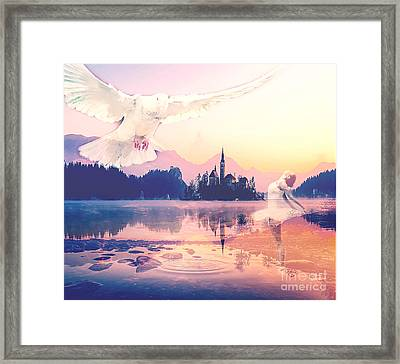 Wings Of Grace Framed Print