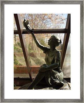 Wings Of Hope Framed Print by Warren Thompson