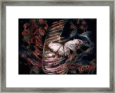 Wings Of The Night Framed Print