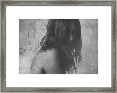 Wings On The Ground Framed Print
