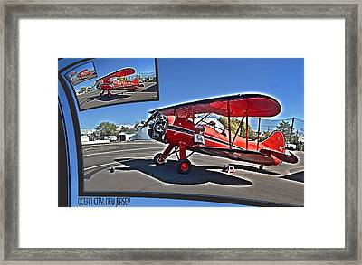 Wings Over The Boards 2011 Framed Print