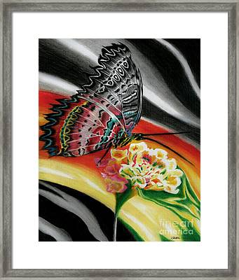 Transforming Winds     Framed Print by Peter Piatt