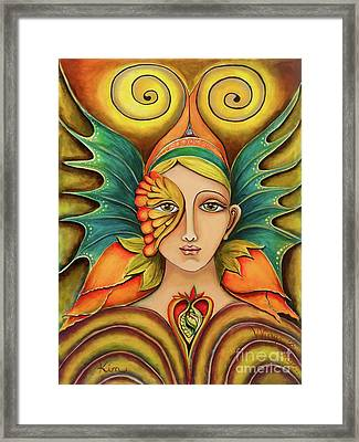 Wings To Fly Framed Print
