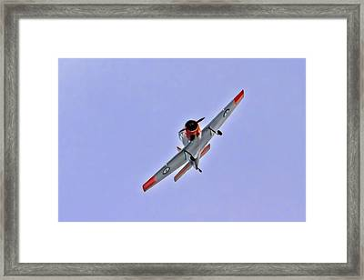 Winjeel Means Young Eagle Framed Print