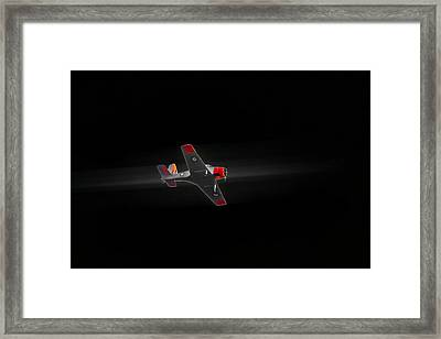 Winjeel Zoom From The Past Framed Print