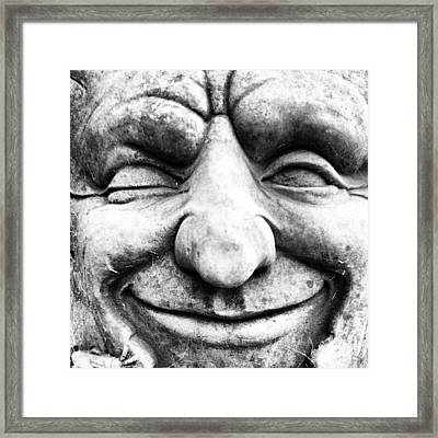 Wink Framed Print by Gary Stringer