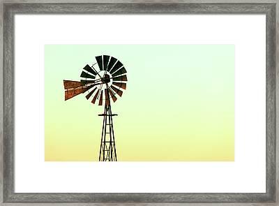 Winmill Tint Framed Print