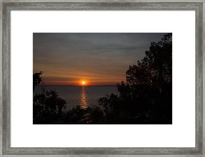 Winnebago Sunset Framed Print