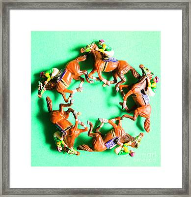 Winners Circle Framed Print