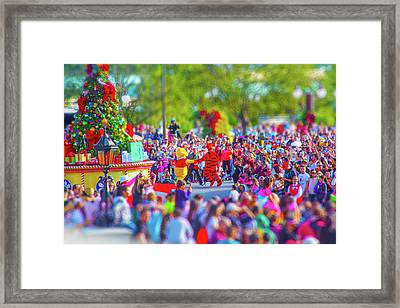 Framed Print featuring the photograph Winnie The Pooh And Tigger by Mark Andrew Thomas