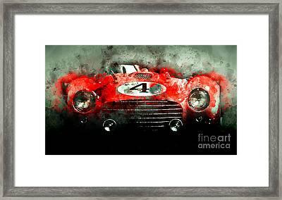 Winning Le Mans  Framed Print by Jon Neidert