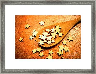 Winning Star Recipe Framed Print by Jorgo Photography - Wall Art Gallery
