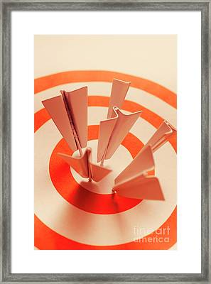 Winning Strategy Framed Print