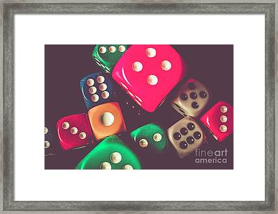 Winning Wager Framed Print by Jorgo Photography - Wall Art Gallery