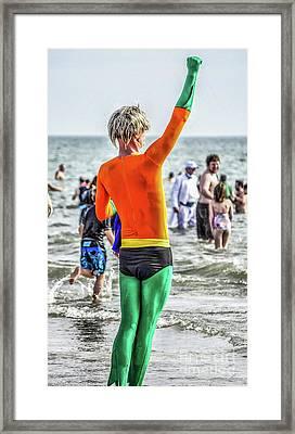 Winning Framed Print by Yvette Wilson