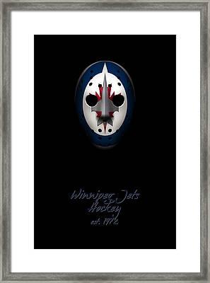 Winnipeg Jets Established Framed Print by Joe Hamilton