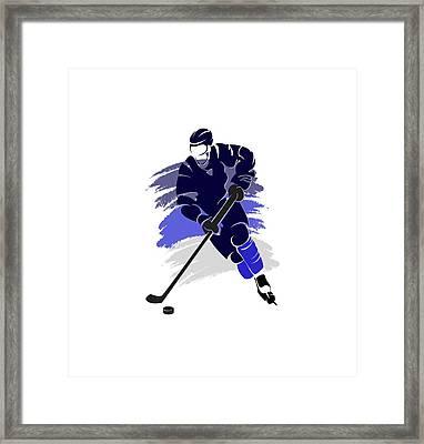 Winnipeg Jets Player Shirt Framed Print by Joe Hamilton